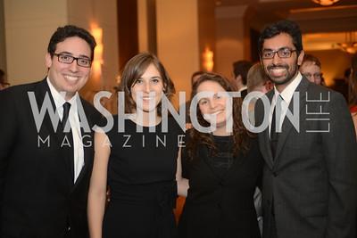 Matt Vasilogambros, Catherine Hollander, Margot Sanger-Katz, Niraj Chokshi,  The Washington Press Club Foundation hosts the 69th Annual Congressional Dinner at the Mandarin Oriental.