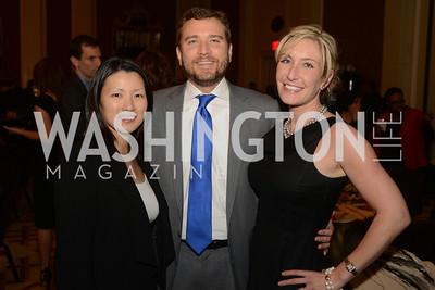 Sabrina Fang, Eric Wohlschlegel, Caroline Harris, The Washington Press Club Foundation hosts the 69th Annual Congressional Dinner at the Mandarin Oriental.