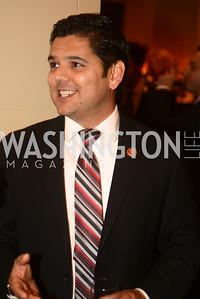 Rep. Raul Ruiz, CA,  The Washington Press Club Foundation hosts the 69th Annual Congressional Dinner at the Mandarin Oriental.