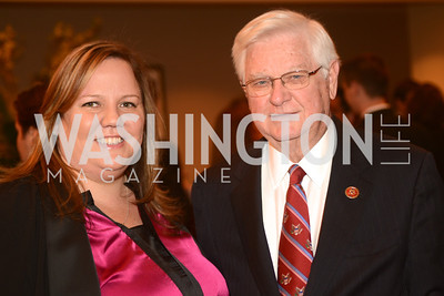 Nicole Rodgers, Rep. Hal Rodgers, KY, The Washington Press Club Foundation hosts the 69th Annual Congressional Dinner at the Mandarin Oriental.