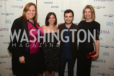 Nicole Rodgers, Paula Butler, Joseph Gomez, Francine McMahon, The Washington Press Club Foundation hosts the 69th Annual Congressional Dinner at the Mandarin Oriental.