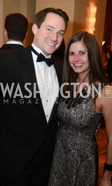 Jacob Wood, Corinna Zarek,  The Washington Press Club Foundation hosts the 69th Annual Congressional Dinner at the Mandarin Oriental.
