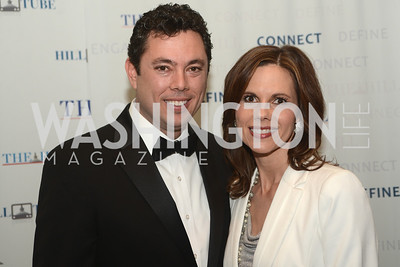 Rep. Jason Chaffetz, and, Julie Chaffetz, The Washington Press Club Foundation hosts the 69th Annual Congressional Dinner at the Mandarin Oriental.