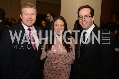 Rep. Charles Dent, PA, Colby Itkowitz, Marty Kady,  The Washington Press Club Foundation hosts the 69th Annual Congressional Dinner at the Mandarin Oriental.