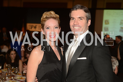 Lindsey Mask, Kevin Madden, The Washington Press Club Foundation hosts the 69th Annual Congressional Dinner at the Mandarin Oriental.