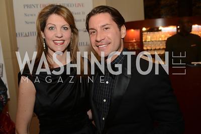 Sarah Larsen, Marco Larsen,  The Washington Press Club Foundation hosts the 69th Annual Congressional Dinner at the Mandarin Oriental.
