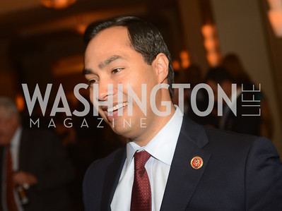 Rep. Joaquin Castro, TX,  The Washington Press Club Foundation hosts the 69th Annual Congressional Dinner at the Mandarin Oriental.
