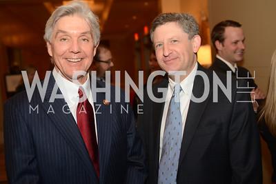 Rep. Roger Williams, TX, Todd Gillman,  The Washington Press Club Foundation hosts the 69th Annual Congressional Dinner at the Mandarin Oriental.
