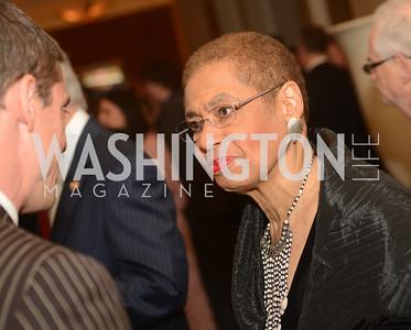 Rep. Eleanor Holmes Norton, DC, The Washington Press Club Foundation hosts the 69th Annual Congressional Dinner at the Mandarin Oriental.