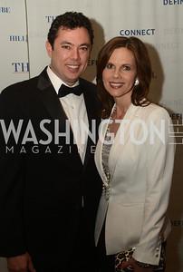 Rep. Jason Chaffetz, and, Julie Chaffetz, The Washington Press Club Foundation hosts the 69th Annual Congressional Dinner at the Mandarin Oriental.
