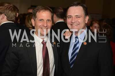 Rep. Chris Stewart, UT, Rep. Luke Messer, IN,  The Washington Press Club Foundation hosts the 69th Annual Congressional Dinner at the Mandarin Oriental.