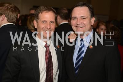 Rep. Chris Stewart, UT, Rep. Luke Messer, IN,  The Washington Press Club Foundation hosts the 69th Annual Congressional Dinner at the Mandarin Oriental.