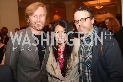 Tom Toles, Christina Sevilla, Tim Burger, Suspicious Package,  The Washington Press Club Foundation hosts the 69th Annual Congressional Dinner at the Mandarin Oriental.