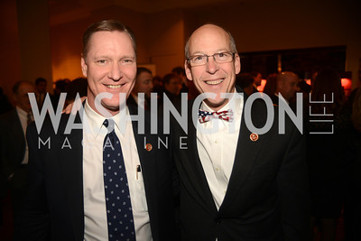 Rep. Steve Stivers, OH, Rep. Greg Walden, OR,  The Washington Press Club Foundation hosts the 69th Annual Congressional Dinner at the Mandarin Oriental.