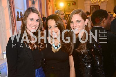 Kristine Rigley,  Janina Rivera, Kerry Rigley, 8th Annual Chance for Life Charity Event.  Poker Tournament, Wine Tasting, and more.  City Tavern Club, Georgetown.  Saturday, February 16, 2013 .  Photo by Ben Droz.