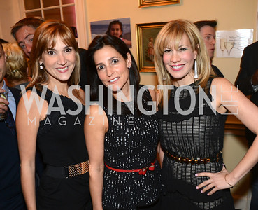 Ivette Domingues, Monica Davis, Arlene Shapiro,  8th Annual Chance for Life Charity Event.  Poker Tournament, Wine Tasting, and more.  City Tavern Club, Georgetown.  Saturday, February 16, 2013 .  Photo by Ben Droz.