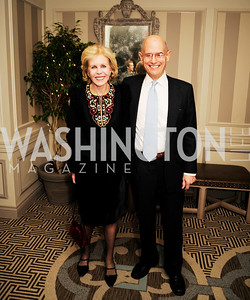 Ann Nitze,Bill Nitze,January 20,2013,A Bi-Partisan Celebration Of The Inauguration of Barack Obama at The Madison Hotel,Kyle Samperton