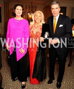 Lynda Robb,Kandy Stroud,Chuck Robb,January20,2013,A Bi-Partisan Celebration Of The Inauguration of Barack Obama at The Madison Hotel,Kyle Samperton