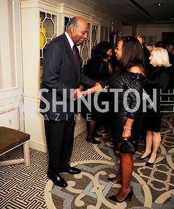 Vernon Jordan, Star Jones ,January 20,2013,A Bi-Partisan Celebration Of The Inauguration of Barack Obama at The Madison Hotel,Kyle Samperton