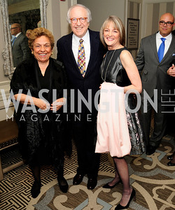 Donna Shalala,Rita Braver,Bob Barnett,January 20,2013,A Bi-Partisan Celebration Of The Inauguration of Barack Obama at The Madison Hotel,Kyle Samperton