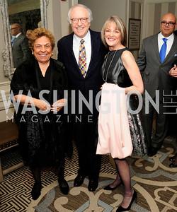 Donna Shalala,Rita Braver,Bob Barnett,January 20,2013,A Bi-Partisan Celebration Of The Inauguration of Barack Obama at The Madison Hotel,Kyle Samperton