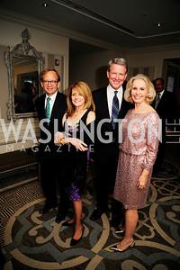 Steven Rattner,Maureen White,David Westin,Sally Quinn,,January 20,2013,A Bi-Partisan Celebration Of The Inauguration of Barack Obama at The Madison Hotel,Kyle Samperton
