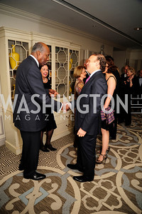 Vernon Jordan, Mark Ein, ,January 20,2013,A Bi-Partisan Celebration Of The Inauguration of Barack Obama at The Madison Hotel,Kyle Samperton