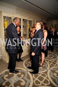 Vernon Jordan, Mark Ein, ,January 20,2013,A Bi-Partisan Celebration Of The Inauguration of Barack Obama at The Madison Hotel,Kyle Samperton