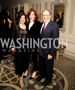 Rhoda Glickman,Beth Dozoretz,Ron Dozoretz,January 20,2013,A Bi-Partisan Celebration Of The Inauguration of Barack Obama at The Madison Hotel,Kyle Samperton