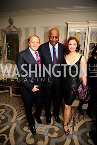 Mark Ein, Vernon Jordan,Ashley Judd ,January 20,2013,A Bi-Partisan Celebration Of The Inauguration of Barack Obama at The Madison Hotel,Kyle Samperton