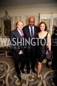 Mark Ein, Vernon Jordan,Ashley Judd ,January 20,2013,A Bi-Partisan Celebration Of The Inauguration of Barack Obama at The Madison Hotel,Kyle Samperton