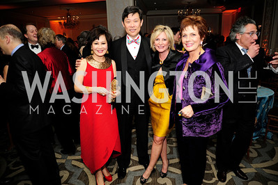 Yuesai Kan,Hank Wuh,Tina Alster,Maureen Orth,January20,2013,A Bi-Partisan Celebration Of The Inauguration of Barack Obama at The Madison Hotel,Kyle Samperton