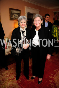 "Edi Schaffer,Isabella Breckinridge, March 5,2013,A Book Party for ''Indiscretion"",Kyle Samperton"