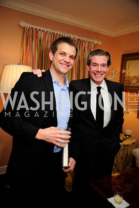 "Chad Breckinridge,Charles DuBow, March 5,2013,A Book Party for ''Indiscretion"",Kyle Samperton"