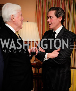 "Michael Mahoney,Charles DuBow, March 5,2013,A Book Party for ''Indiscretion"",Kyle Samperton"