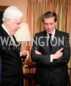 """Michael Mahoney,Charles DuBow, March 5,2013,A Book Party for ''Indiscretion"""",Kyle Samperton"""