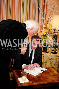 "Francois Lampietti,Charles DuBow, March 5,2013,A Book Party for ''Indiscretion"",Kyle Samperton"