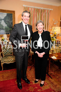 "Charles DuBow,Isabella Breckinridge, March 5,2013,A Book Party for ''Indiscretion"",Kyle Samperton"