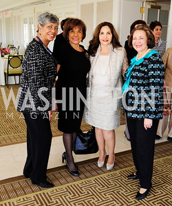 Sherry Madison,Denia Hightower,Samia Farouki,Alma Powell,March 7,2013,A Luncheon for Alma Powell,Kyle Samperton