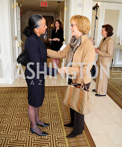 Irasema Salcido,Marguerite Kondrake,March 7,2013,A Luncheon for Alma Powell,Kyle Samperton