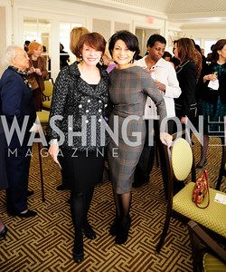 Marlene Malek,Shamin Jawad,March 7,2013,A Luncheon for Alma Powell,Kyle Samperton