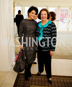 Shamin Jawad,Alma Powell,March 7,2013,A Luncheon for Alma Powell,Kyle Samperton