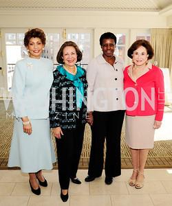 Janet Langhart Cohen,Alma Powell,Maria Bunch,Alma Gildenhorn,March 7,2013,A Luncheon for Alma Powell,Kyle Samperton