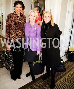 Alexine Jackson,Leslie Hayes,Debbie Dingell,March 7,2013,A Luncheon for Alma Powell,Kyle Samperton