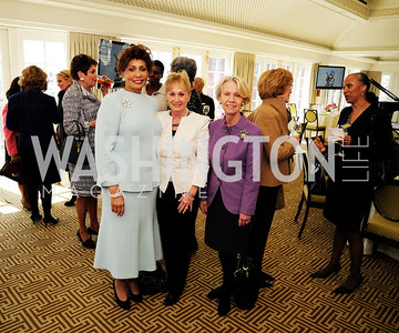 Janet  Langhart Cohen,Deni Mineta,Leslie Hayes,March 7,2013,A Luncheon for Alma Powell,Kyle Samperton