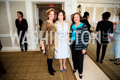 Patty Coleman,  Cathy Reynolds,Alma Powell,March 7,2013,A Luncheon for Alma Powell,Kyle Samperton