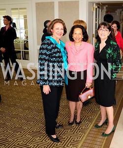 Alma Powell,Gail West,  Marie Mattsen,March 7,2013,A Luncheon for Alma Powell,Kyle Samperton