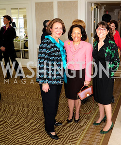 Alma Powell,Gail West,  Marie Mattsen,March 7,2013,A Luncheon for Alma Powell,Kyle Samperton