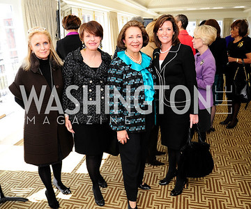 Debbie Dingell, Marlene Malek,Alma Powell,Denise Grant,March 7,2013,A Luncheon for Alma Powell,Kyle Samperton