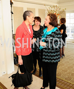 Sharon Malone,Alma Powell,March 7,2013,A Luncheon for Alma Powell,Kyle Samperton